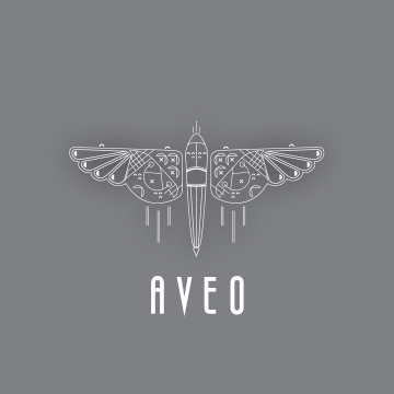 AVEO Logo and Label Design