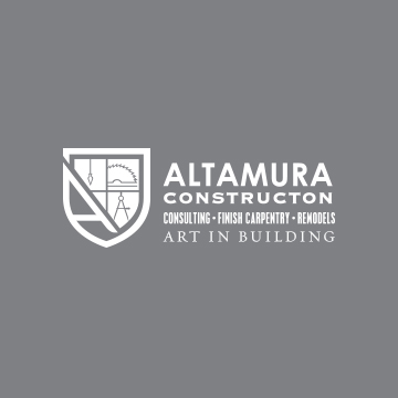 Altamura Construction Logo Design