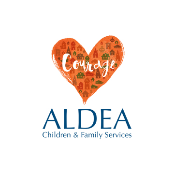 ALDEA Courage Village Logo Design