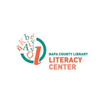 Napa County Library Literacy Center Logo Design