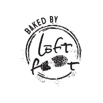 Baked by Leftfoot Logo Design