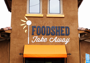 Foodshed Take Away Logo/Branding Design