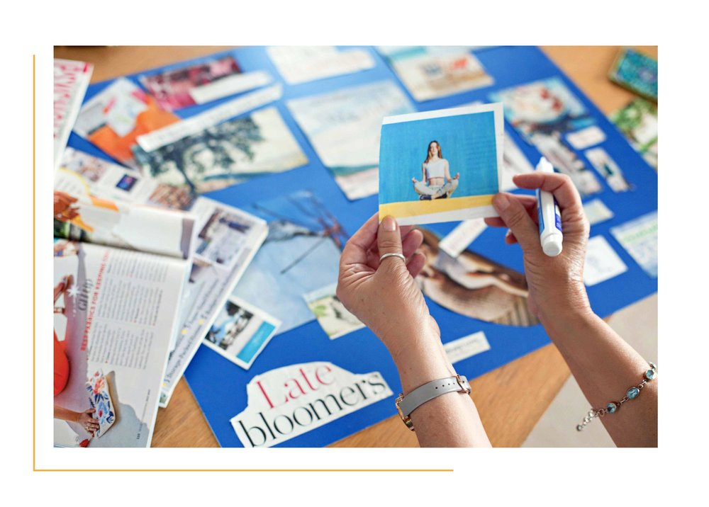What's Included - Half-day group workshop in Exeter or onlineAll materials to create your vision board providedAccess to my private Freestyle Vision Board Facebook Group