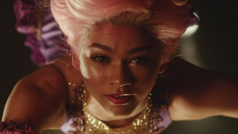 "Let's discuss Bay Area's own, Zendaya as Anne Wheeler:   I initially had  no  idea that Zendaya could sing. I believe she came to the Disney Channel when I was already bitter about no longer having my Boy Meets World, my Even Stevens, and my Lizzie McGuire's. When I downloaded The Greatest Showman soundtrack about a week or two prior to the movie's release and listened to ""Rewrite The Stars"" I remember Tweeting how sad I was to have missed out on her talents for  this  long.   Anne Wheeler's character is this tough and beautiful African American woman who performs alongside her brother W.D. Wheeler as trapeze acts. What immediately caught my attention was the fact that they did not do what typical movies do, which is, take the clearly beautiful woman and make her the clearly beautiful woman (same with Keala Settle). They hardened her, gave her a tougher and less graceful walk, they made her a more rigid but insecure character. I could see parts of myself in this character which is what made her so relatable and also made the movie that much more magical for me.    Also, we cannot discuss ""Rewrite the Stars"" without at least commenting on her amazing body and her intense and believable connection with Zac Efron's character, Phillip Carlyle. These two together are musical genius. Their eyes meeting is magic, it's breathtaking. I could blame that on Zac Efron's great acting or on Zendaya's perfection, but whatever the cause may be their love is believable.   Finally, I am not sure if Zendaya just loves butterflies or not but, her butterfly dress while at the theater in the movie and also the Moschino dress that she wore on opening night of The Greatest Showman were stunning. I am oddly, and probably irrationally, afraid of butterflies, but, seeing her in these beautiful dresses with her perfectly made-up face just makes me want a pet butterfly (I'll name him Carlyle).   Moving on, because I could talk about her for hours."