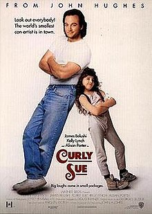 Curly Sue - Say hello to another gem from my childhood. I watched this movie over and over and over and over and over again. Curly Sue is this cute little sassy girl that helps her father scheme for money and food until the duo meets the perfect kind-hearted woman to change the tide of their lives.This is an oldie but a goodie. Lucky for you guys, Amazon has everything!