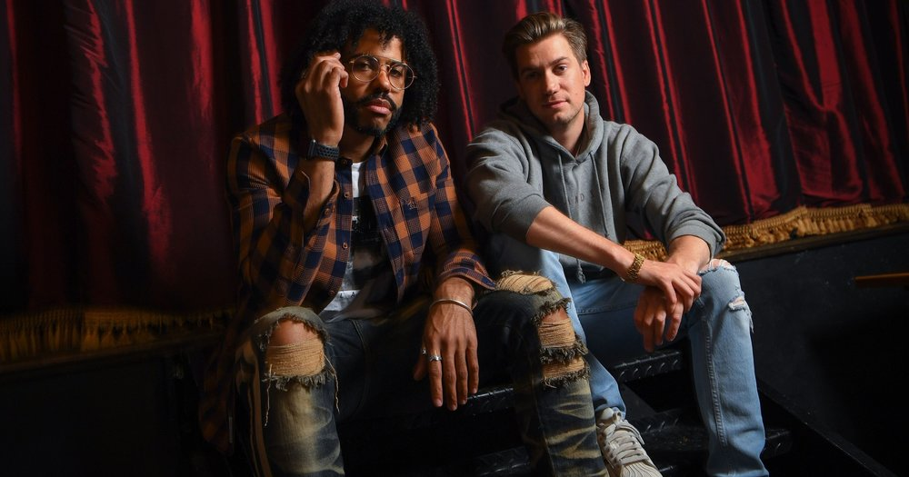 The brilliant minds behind the film, Daveed Diggs & Rafael Casal.