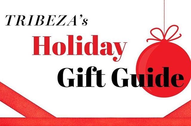 We are so honored to be included in the @tribeza holiday gift guide!  Please visit our website to see the full Winter 2017 collection.