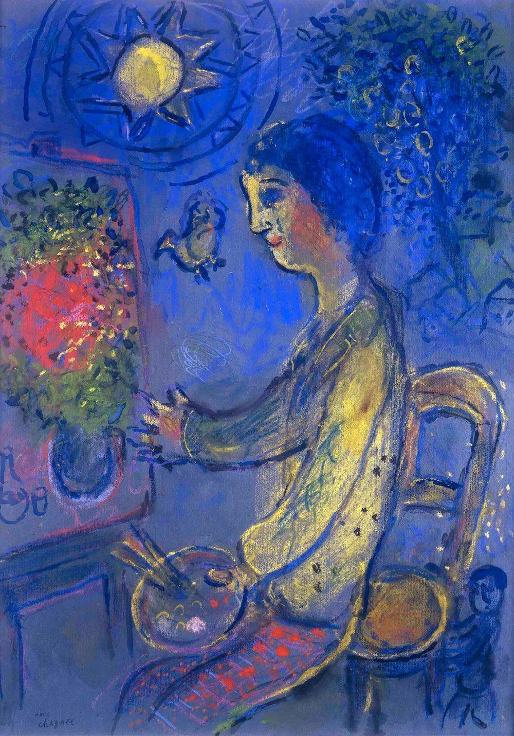 Chagall Le peintre en jaune email.jpg