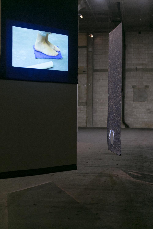 Foot Work   Digital Video  6 minutes 18 seconds (loop)  2013