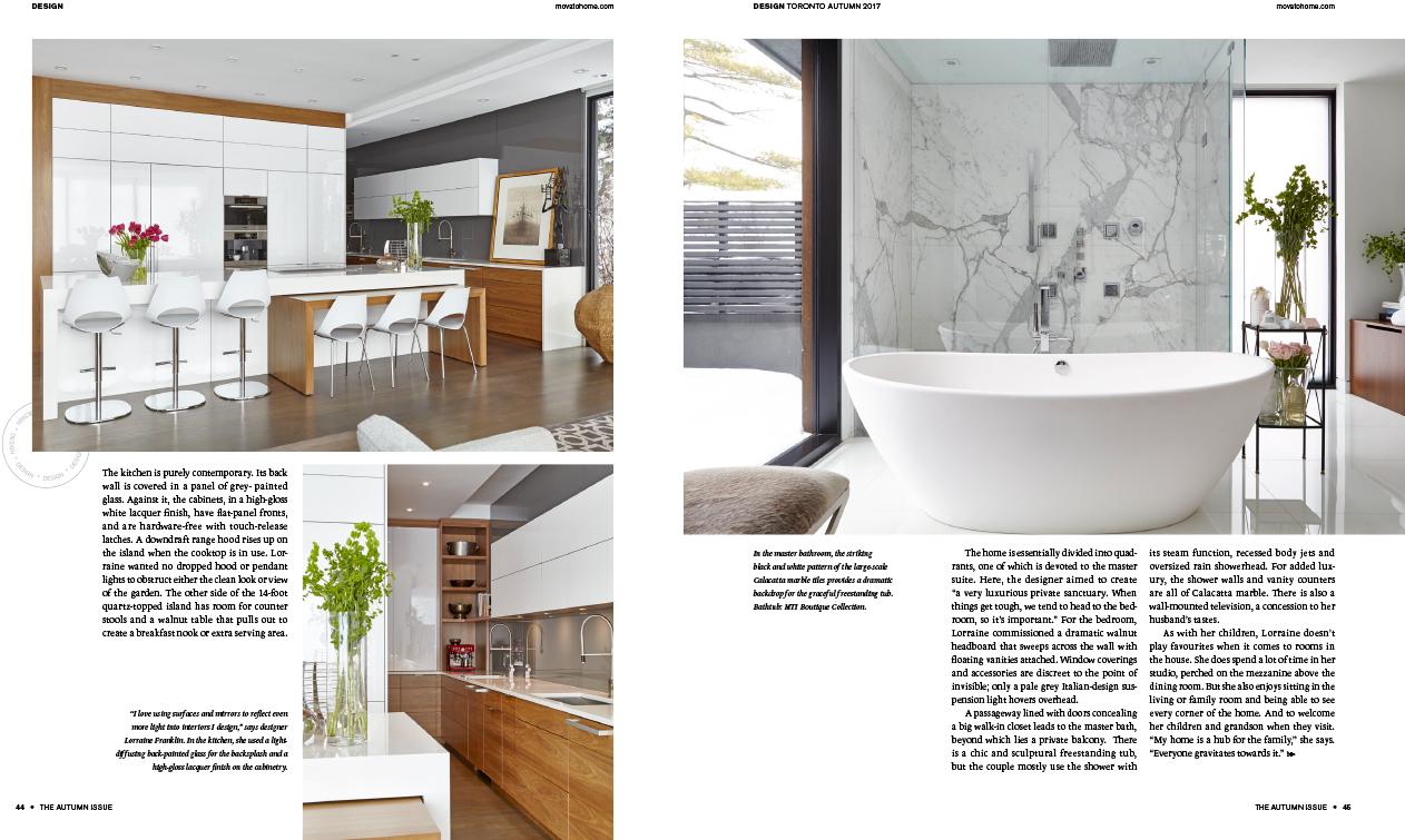 PRESS — Lorraine Franklin Interior Design