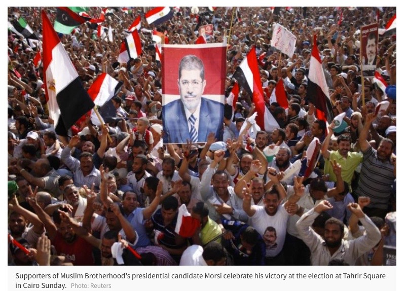 Election of Muslim Brotherhood's Morsi Will Likely Improve Egypt's Finances - NEWSWEEK/INTERNATIONAL BUSINESS TIMES. JUNE 25, 2012With the victory of the Muslim Brotherhood candidate in Egypt's presidential runoff, the world's largest Arab nation appears set not just for a transition to democracy but also for economic growth, Egyptian officials said. Political uncertainty surrounding the nation's first...READ MORE.