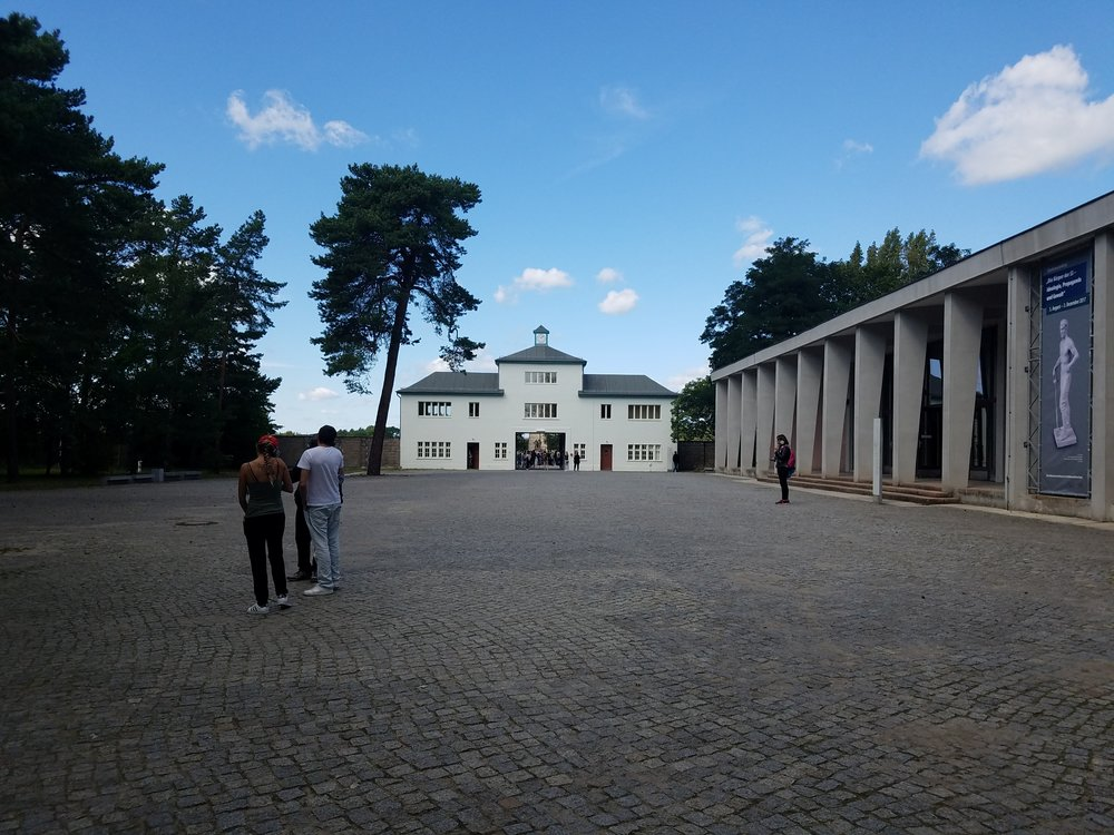 Entrance to the Sachsenhausen camp through Tower A -