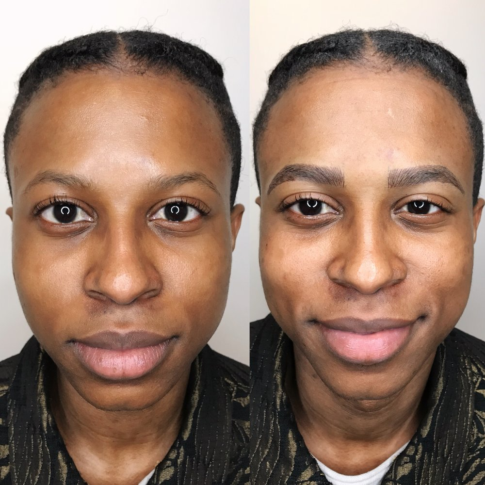 3D Microblading Male Eyebrows