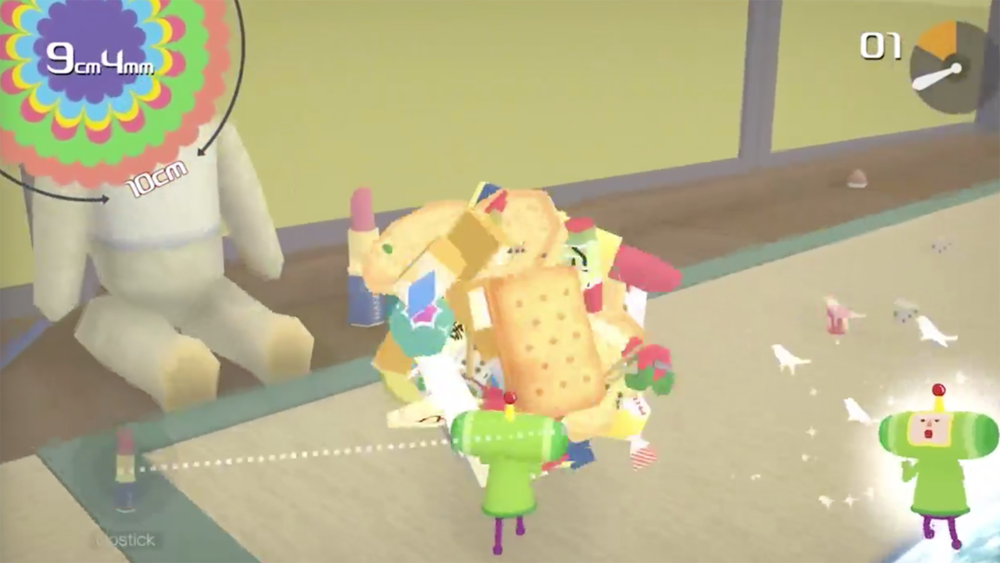 Katamari Damacy Reroll - Never played Katamari! I want to!