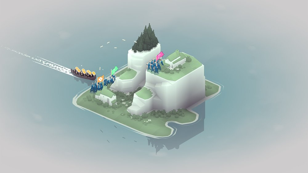 Bad North - A tiny little strategy game on Switch! Looks cute!