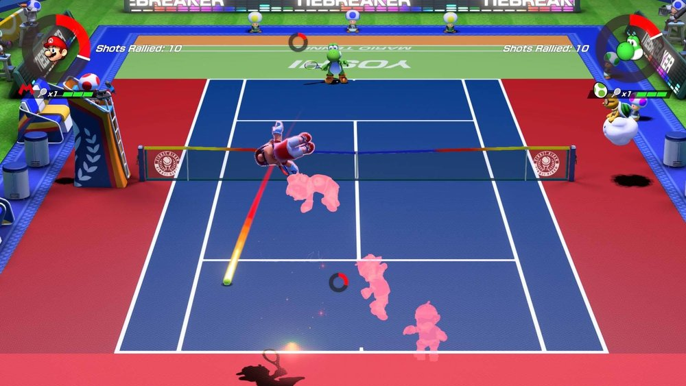 Mario Tennis Aces - It just looks fun!