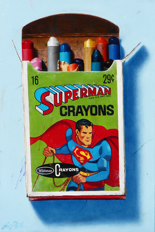 Superman Crayons, 2017