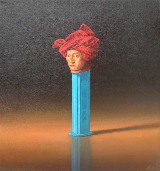 Pez with Red Turban, 2007