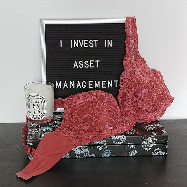 "I spend a lot of money on ""asset management"" (aka bras). For most of my friends, a bra isn't worth spending extra money on because you can't see it under your clothes. It makes more sense to spend $70 on a new dress versus $70 on a new bra. I get it, ""out of sight, out of mind."" But consider this: In three months, you will probably wear that dress 8 times and the bra 24 times. Plus, the bra you wear isn't affected by seasonal weather, so you can wear the same one yearround. • I consider my lingerie a wardrobe investment. My bra is the only piece of clothing I wear multiple times in the same week--that and my favorite leggings. • Now, I know not everyone can afford to spend tons of money on a bra. I'm not trying to sell you anything or preach to anyone. I'm definitely not saying you should drop hundreds on bras like me (because, really, I have a problem). I'm just sharing my personal lingerie perspective. . . . . #lingerie #lingerieblogger #lingerieaddict #lingerielife #lingerieblog #lingerieaddiction #instalingerie #lingerielove"
