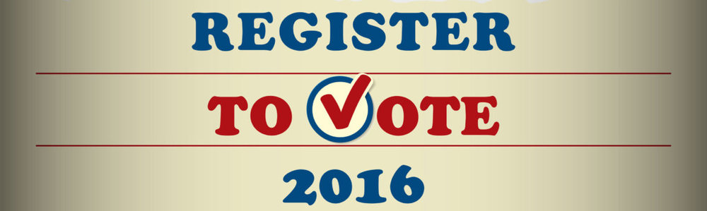 46503031 - usa 2016 to register vote - template