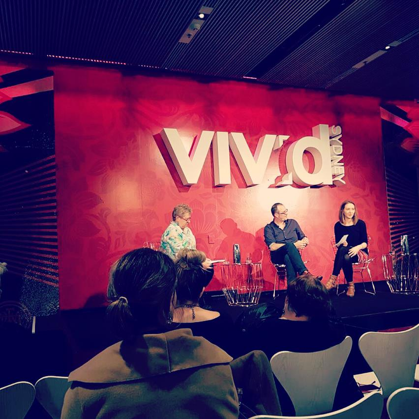 Panel discussion at VIVID Live in 2017