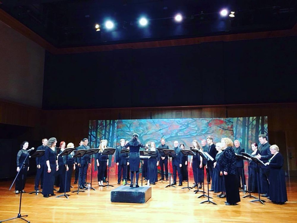 Sydney Philharmonia Choirs Chamber Choir premieres my work in 2017