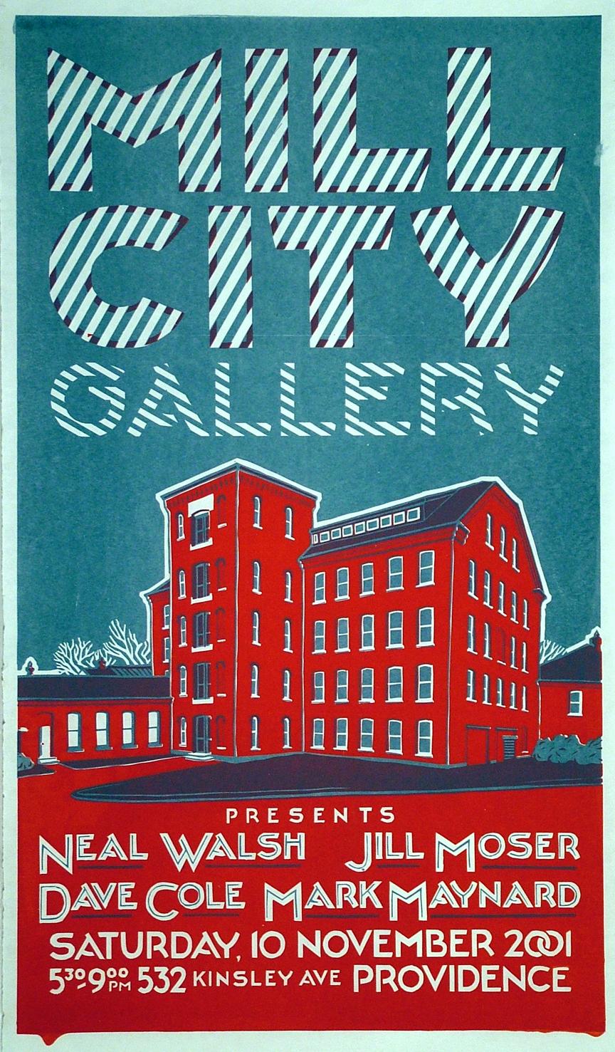 Ian Cozzens,  Mill City Gallery , 2001