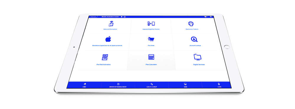 The Marketplace Cloud™| The Point of Sale (POS) system that tailor-made for the sale of connected products and services at the point of purchase.