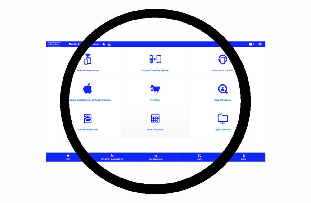 Marketplace Cloud™UI can be tailored to any service you want to sell.