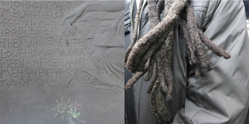 Chalk & Subway Dreads