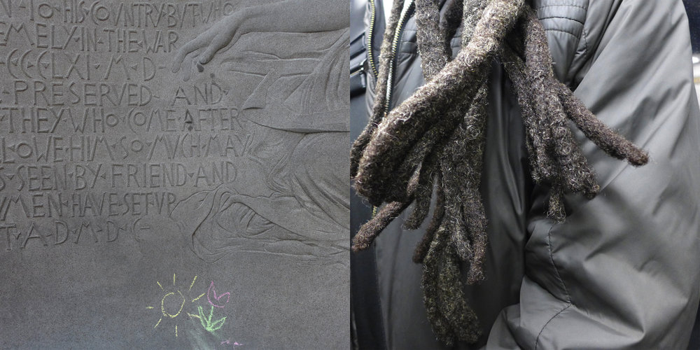 Chalk & Subway Dreads