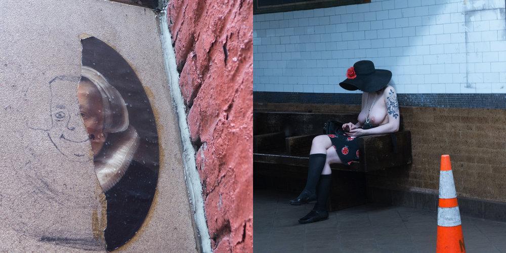Street Art & Subway Boobs