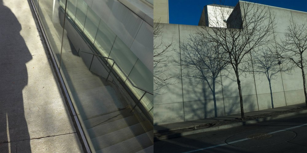 Shadow, Lincoln Center & From the Car, West Side Highway