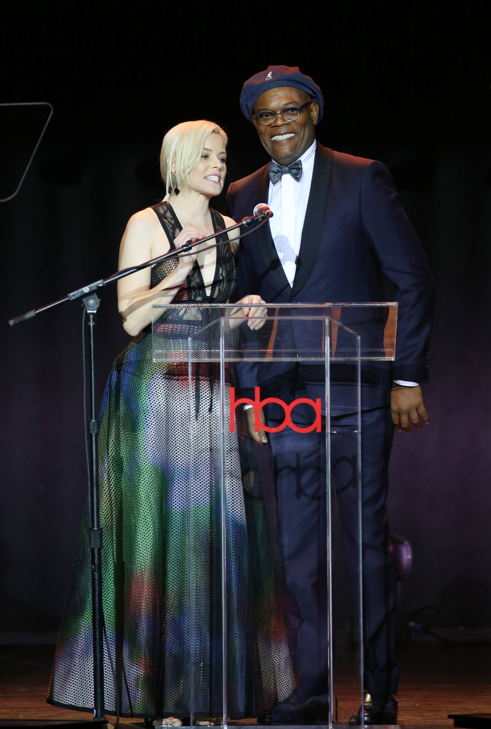 Samuel Jackson & Elizabeth Banks | Feb 25, 2018, Hollywood Beauty Awards held at the Avalon