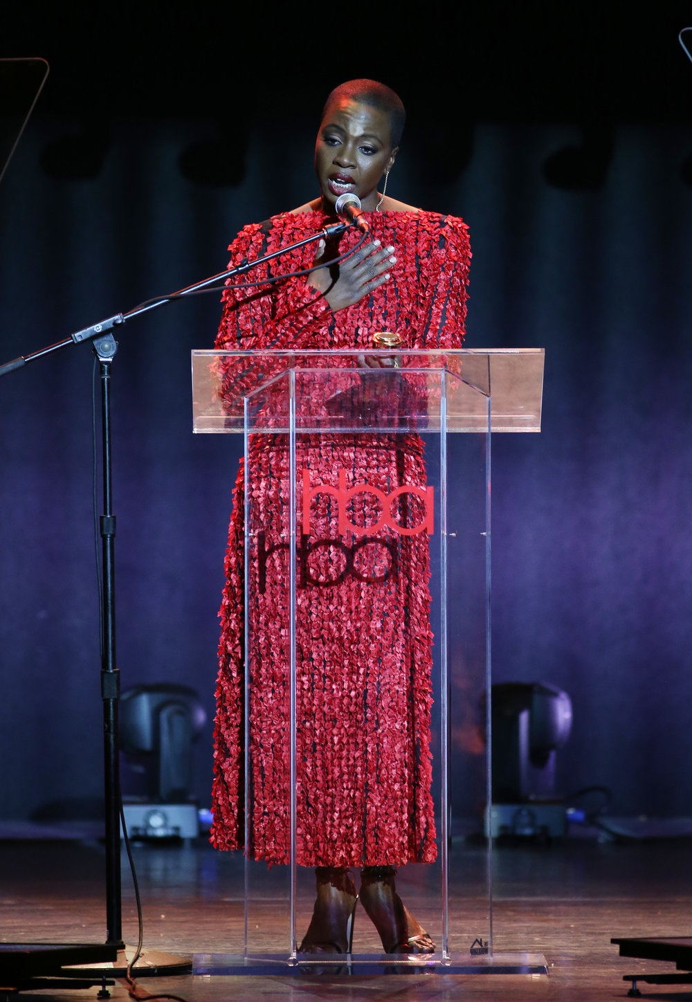 Danai Gurira | Feb 25, 2018, Hollywood Beauty Awards held at the Avalon