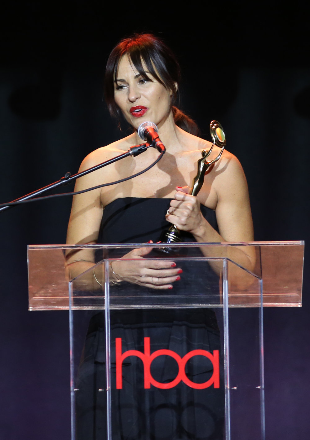 Carola Gonzalez  | Feb 25, 2018, Hollywood Beauty Awards held at the Avalon