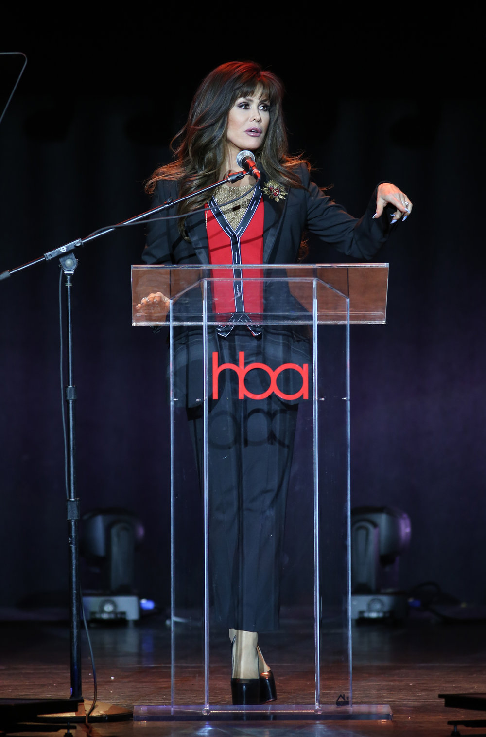 Marie Osmond  | Feb 25, 2018, Hollywood Beauty Awards held at the Avalon