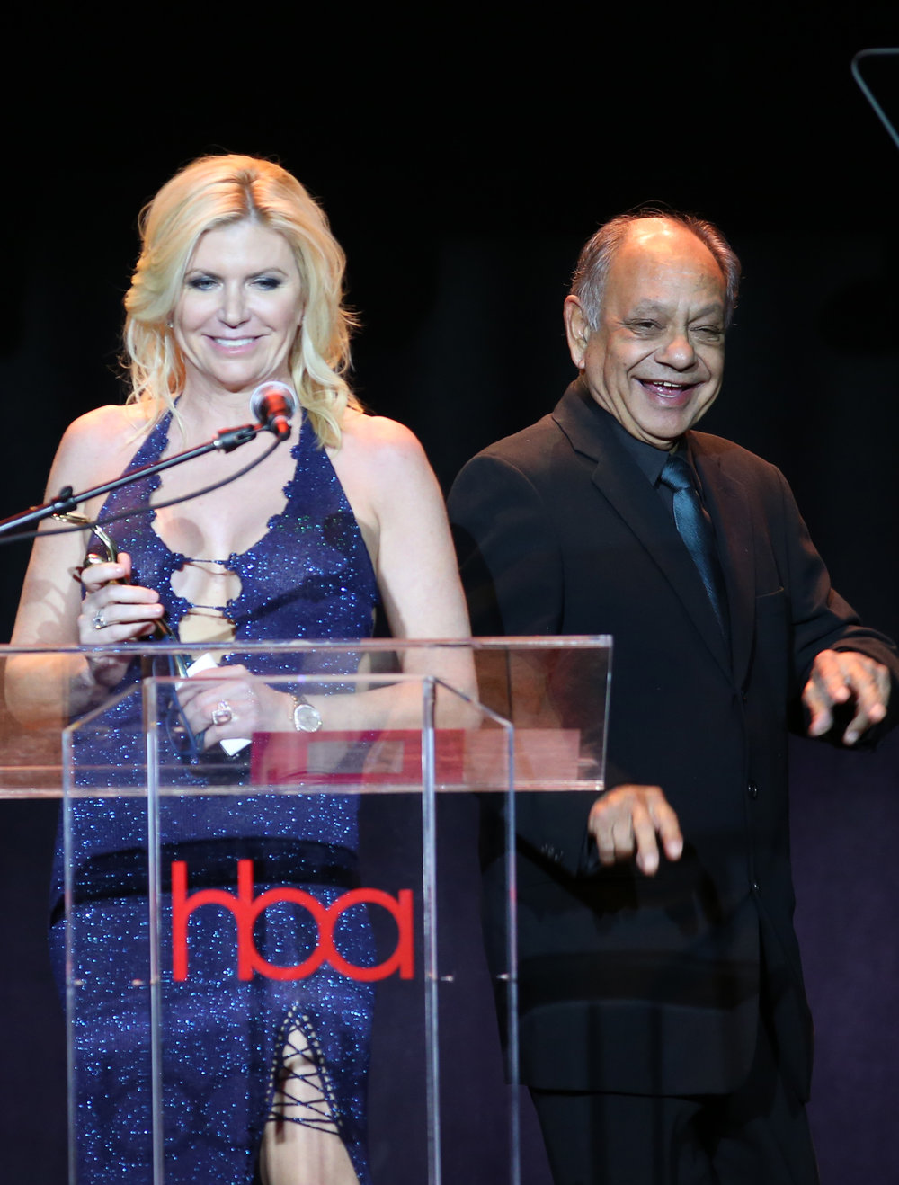 Beth Stavola and Cheech Marin  | Feb 25, 2018, Hollywood Beauty Awards held at the Avalon