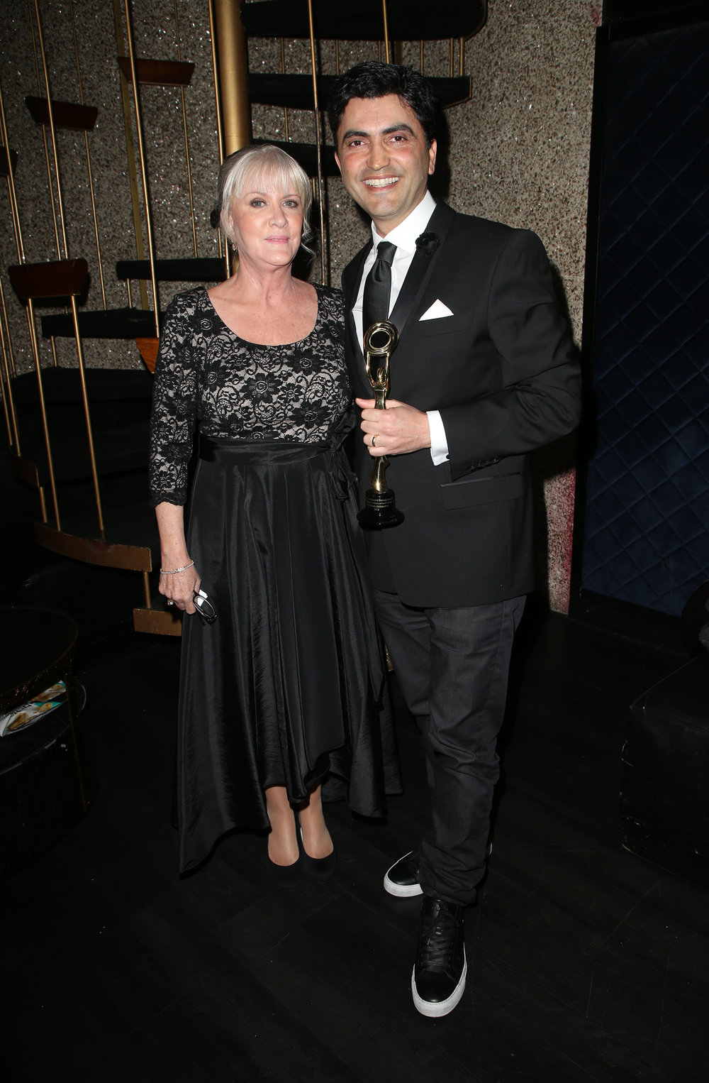 Mary Jo Buttafuoco and Dr. Babak Azizzadeh | Feb 25, 2018, Hollywood Beauty Awards held at the Avalon