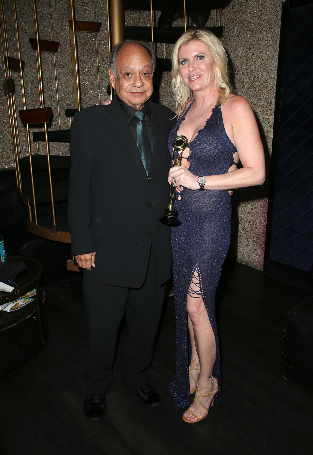 Cheech Marin and Beth Stavola  | Feb 25, 2018, Hollywood Beauty Awards held at the Avalon