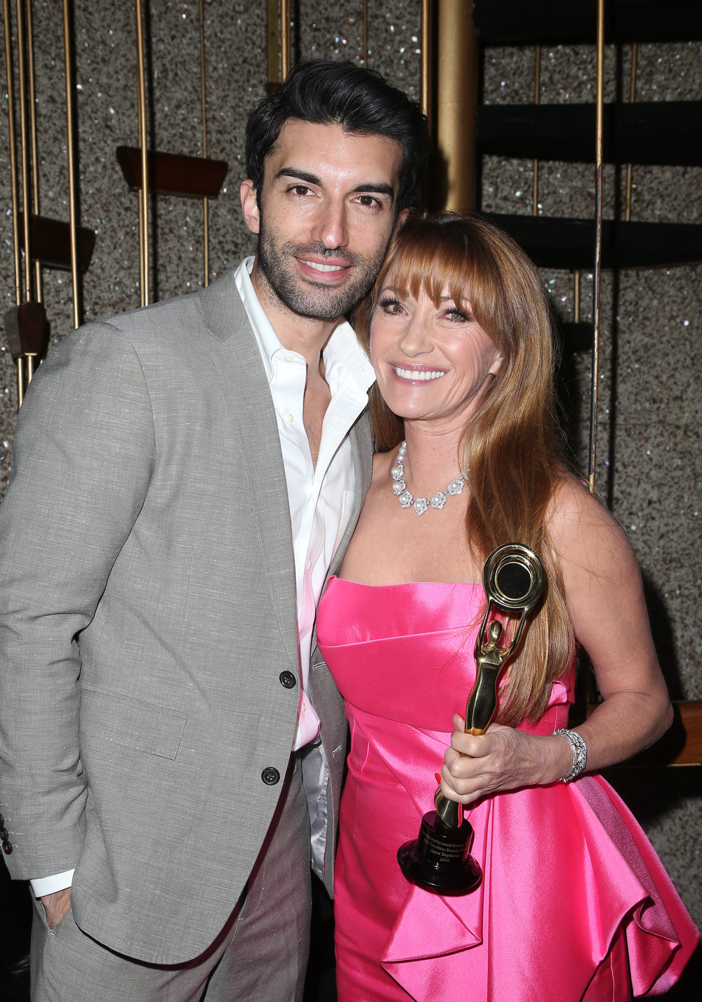 Justin Baldoni and Jane Seymour | Feb 25, 2018, Hollywood Beauty Awards held at the Avalon