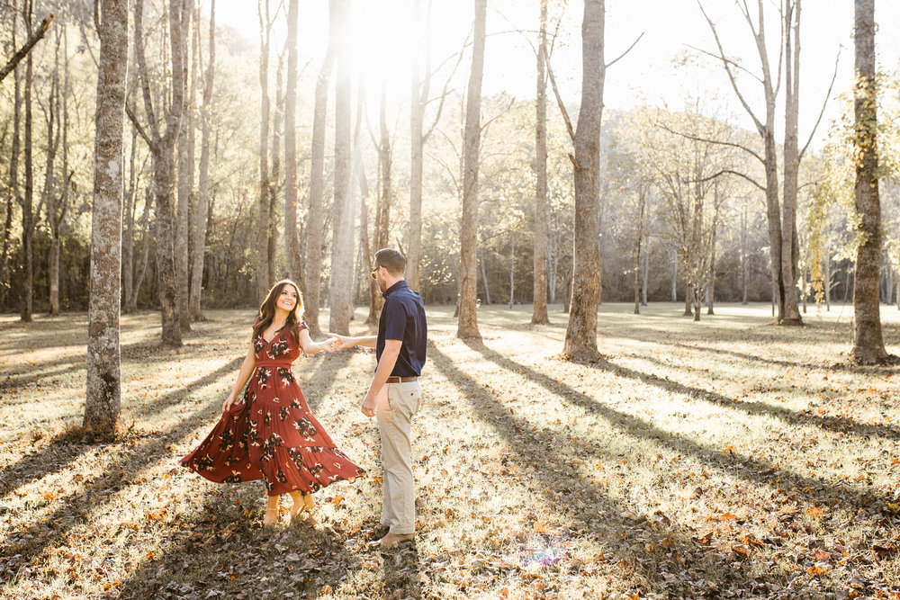 Engagement Photography Hickory Valley Farms