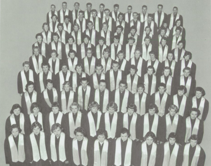 Edina-Morningside High School Senior Choir, 1959