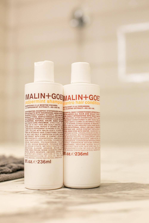 Malin + Goetz Shampoo and Conditioner