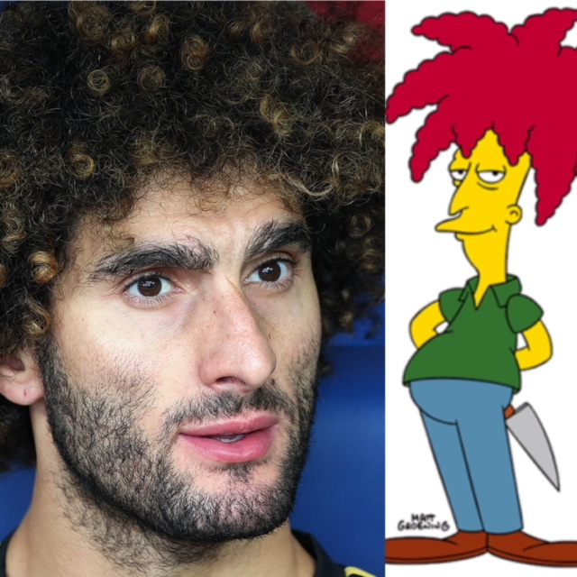 45a56c0afdd Marouane Fellaini Cut His Hair and Looks Like A New Person — This Is ...