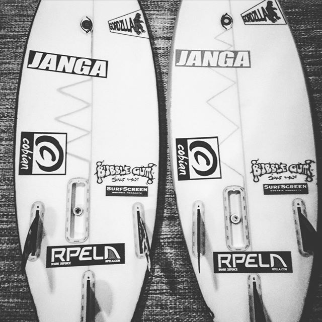 Here is a couple of @breesmithsurfer  Boards a super little grom from florida .  These boards are tiny but you can see  pretty easily hows the Rpela units fits into the normal PU board`s. . . #日本サーフ #サーフィン #日本サーフィン #サーフィン #宮崎サーフ #japansurf #sea #seacreatures #surf #surfer #savetheplanet #oceans #openwater #optoutside #outdoorpassion #underwater #jbay #sharkattack #safekidsurf #sunsetsurf #surfsolo #wanderlust #grom #oceans #openwater #optoutside #shark