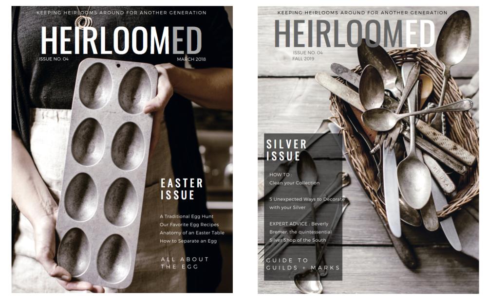 heirloomed magazine