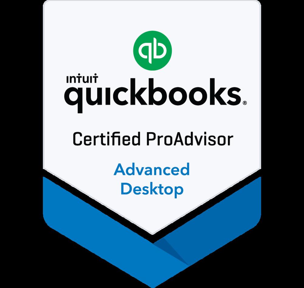 Advanced Desktop - Quickbooks ProAdvisor