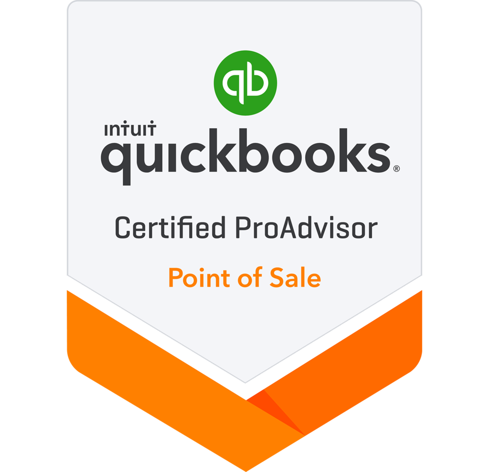 Point of Sale - Quickbooks Certified ProAdvisor