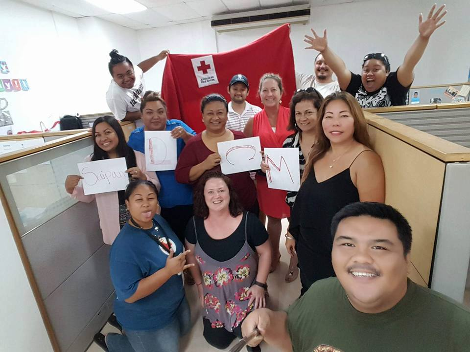 American Red Cross - CARE worked closely with the American Red Cross Disaster Case Management team to provide long-term recovery to families and individuals impacted by Typhoon Soudelor. Between September 2015 and June 2018, the Northern Mariana Islands Chapter of the American Red Cross hired case managers to work with families who had unmet needs from the typhoon. These case managers worked directly with clients, and they presented their clients' cases to CARE for funding.
